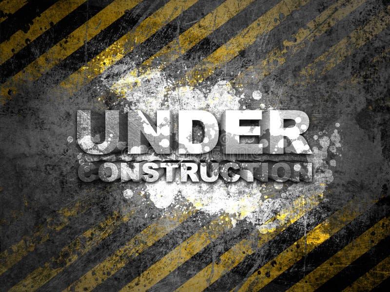 Bajo construcción libre illustration