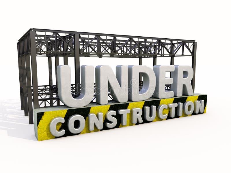 Download Bajo construcción stock de ilustración. Ilustración de construcción - 41921857