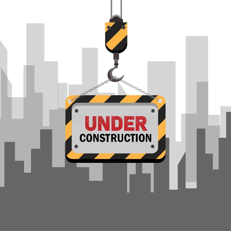 Bajo construcción 03 libre illustration