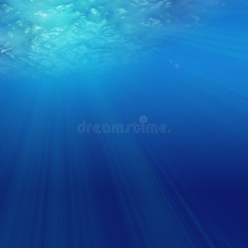 Bajo el agua stock de ilustración