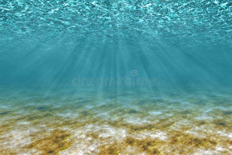 Bajo el agua foto de archivo libre de regalías