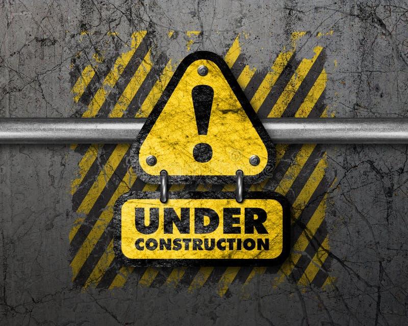 Bajo fondo de la construcción libre illustration