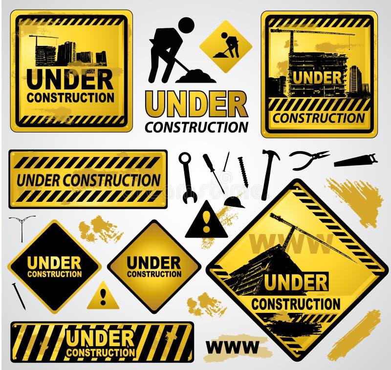 Bajo muestra de la construcción libre illustration