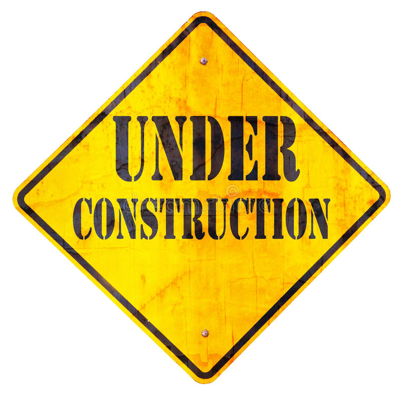 Bajo muestra de la construcción foto de archivo