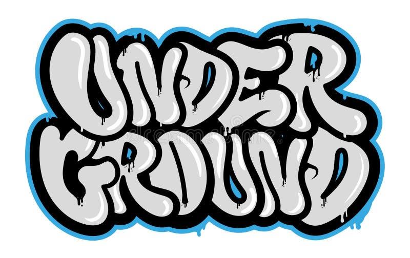 Bajo tierra libre illustration