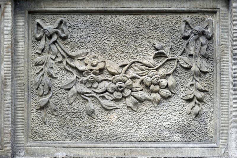 Bajorrelieves de piedra de Gdansk fotos de archivo libres de regalías