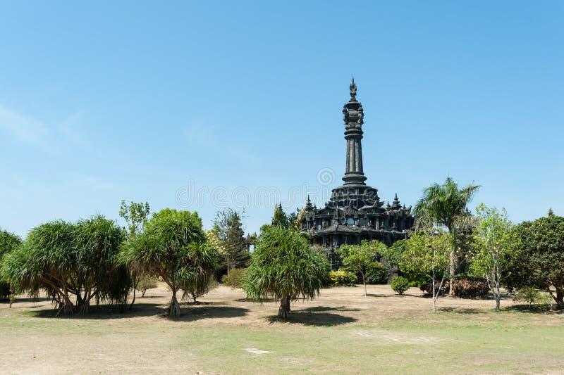 Bajra Sandhi纪念碑,登巴萨,巴厘岛 2 免版税图库摄影