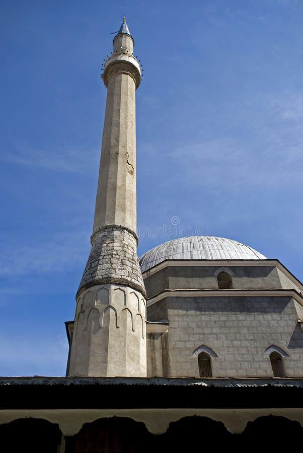 Bajrakli清真寺,普里兹伦,科索沃 免版税图库摄影