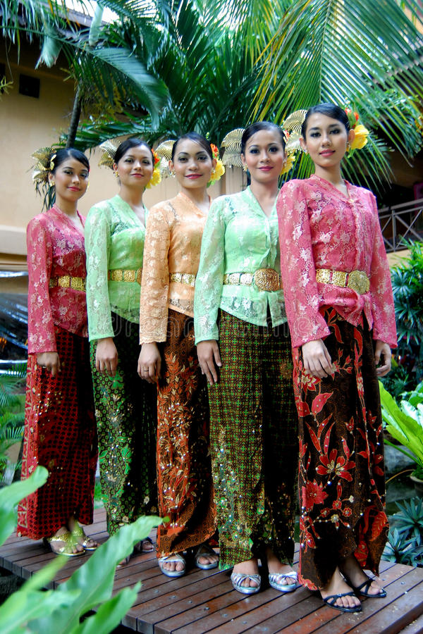 Baju Kebaya. Young malay modal with modern baju kebaya, malaysia stock photo