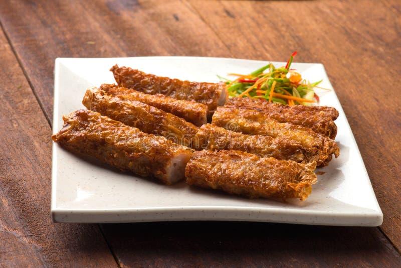 Bak loh Penang, пряные крены свинины стоковые фото