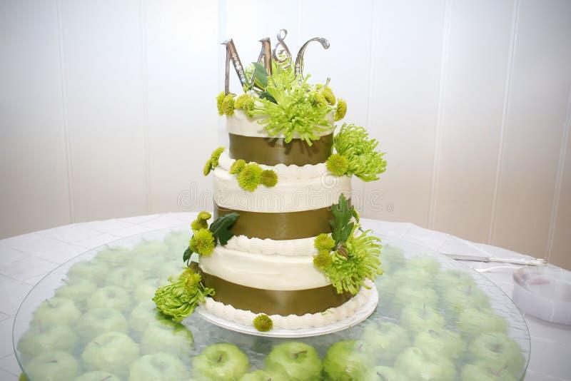 baka ihop bröllop royaltyfri fotografi