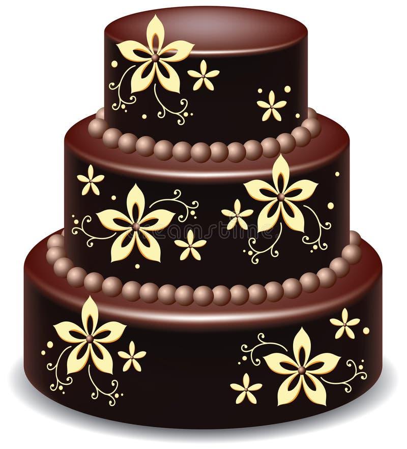 baka ihop choklad vektor illustrationer