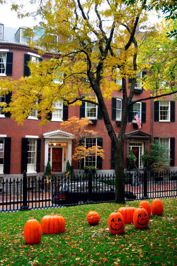 bakanu hill bostonu obraz stock