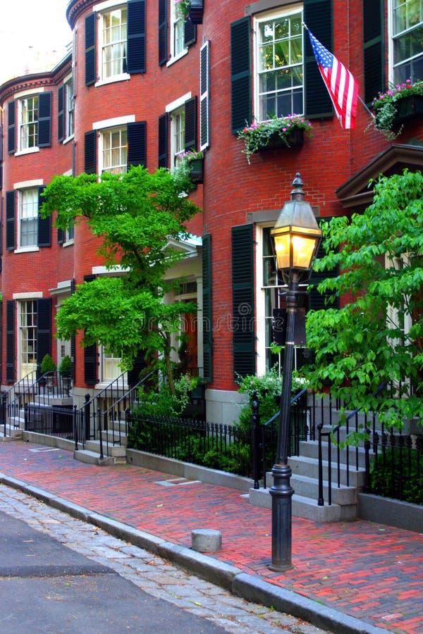 bakanu hill bostonu fotografia stock