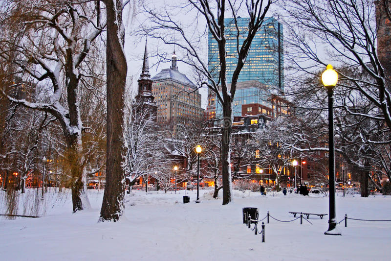 bakanu hill bostonu fotografia royalty free