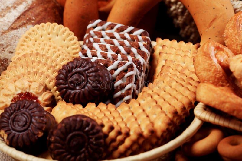 bakar ihop choklad arkivbilder