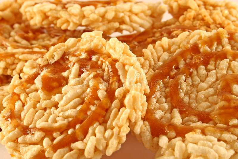 bakar ihop thai rice royaltyfria bilder