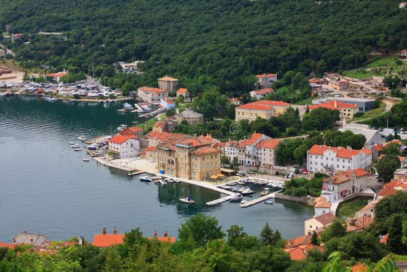Bakar in Kroatien stockbilder