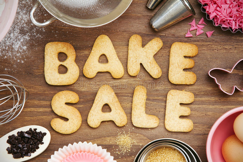 Download Bake sale cookies stock image. Image of pink, brown, home - 24637287