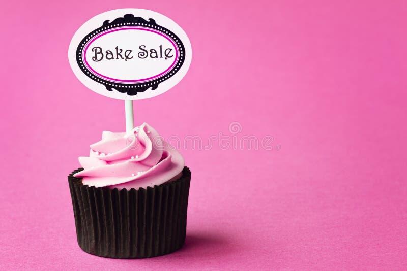 Bake sale cupcake stock photography