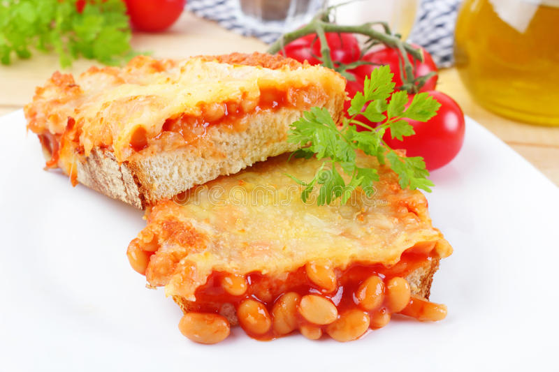 recipe: beans on toast with cheese [31]