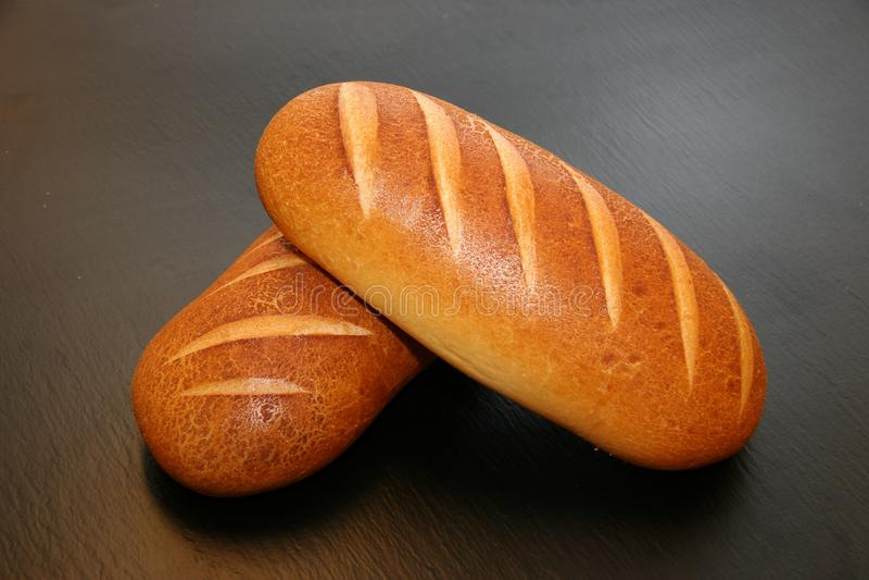 Baked bread stock photos