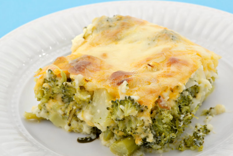 Download Baked Broccoli Pie stock image. Image of brunch, food - 4437493