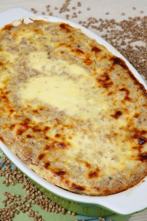 Download Baked Buckwheat Mash In Baking Pan Stock Image - Image: 7828541