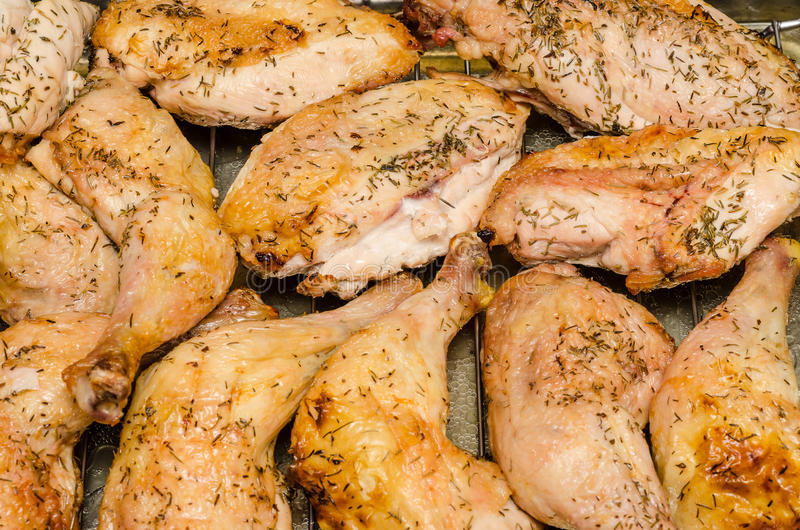 Download Baked Chicken stock photo. Image of cook, good, flavor - 27610898