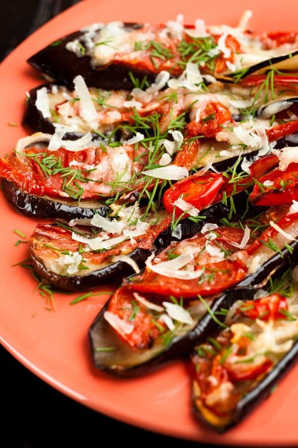 Download Baked eggplants stock photo. Image of baked, bell, eggplant - 16094842