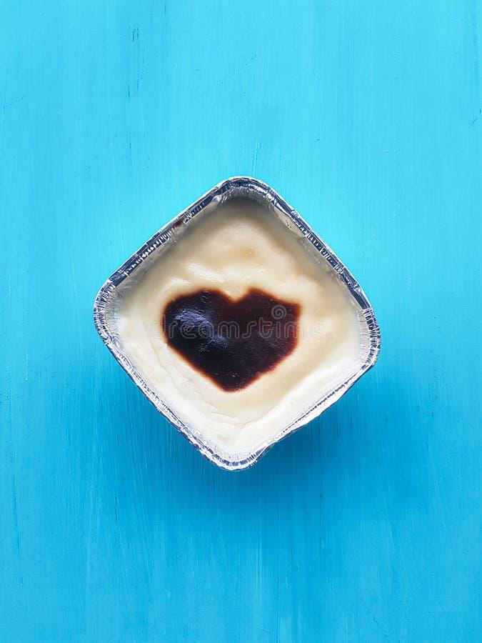 Baked rice pudding, sutlac stock photos