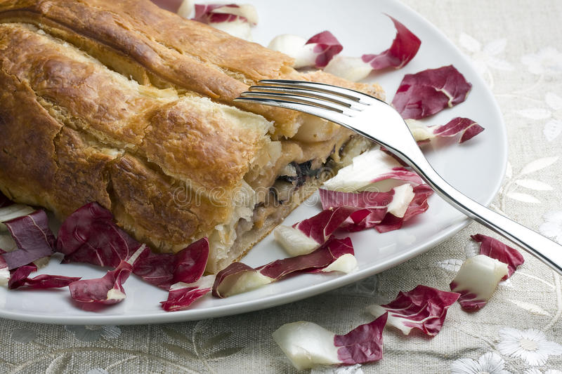 Download Baked Roll Stuffed With Radish Stock Photography - Image: 29615602