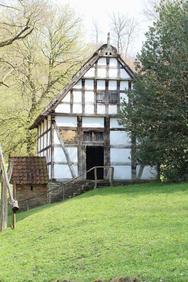 Bakehouse świron, Freilichtmuseum Hessenpark zdjęcie stock