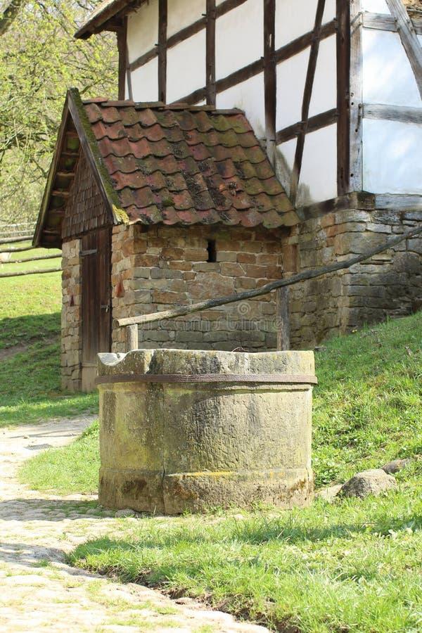 Bakehouse świron, Freilichtmuseum Hessenpark zdjęcia stock