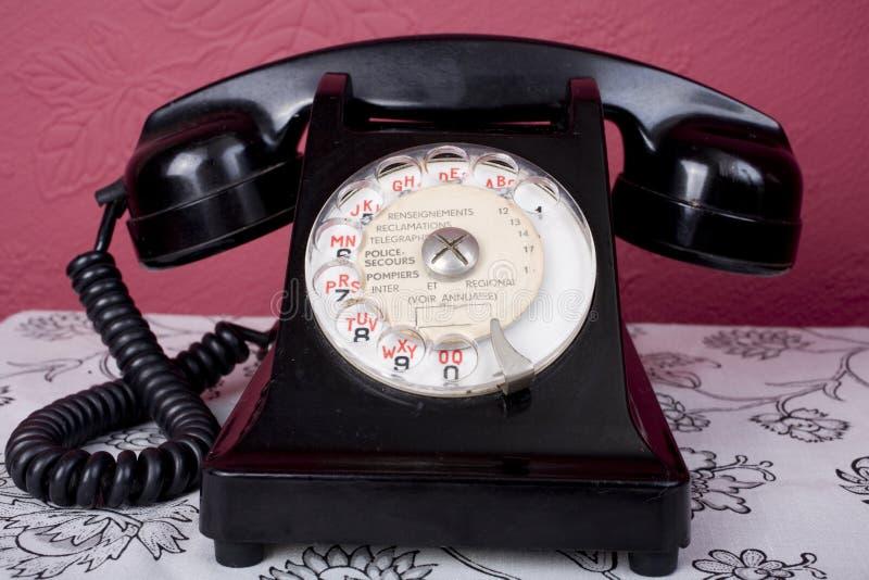 Download Bakelite French Phone stock image. Image of listen, 1950 - 11446415