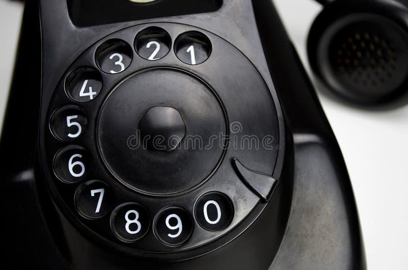 Bakelittelefon 1955 stockfoto