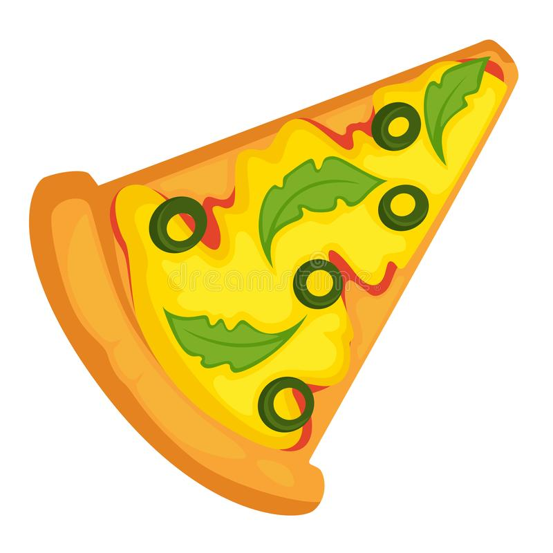 Bakelse för recept för pizzaskivasnabbmat italiensk med ost royaltyfri illustrationer