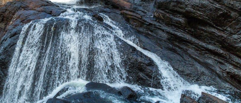 Baker's秋天瀑布山全景风景霍顿Plai 免版税库存照片