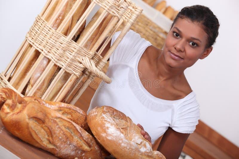 Download Baker stock image. Image of shop, basket, cook, food - 28642537