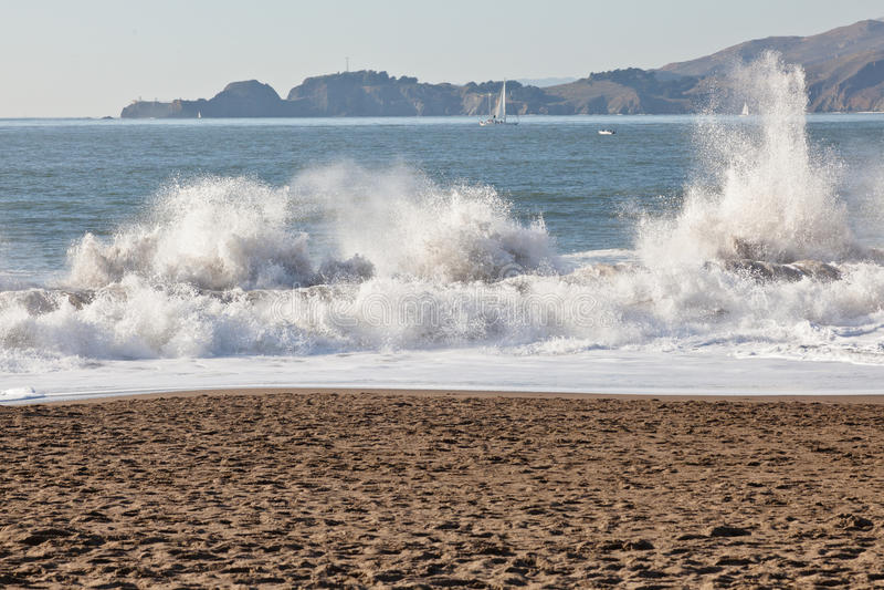 Baker Beach Royalty Free Stock Image
