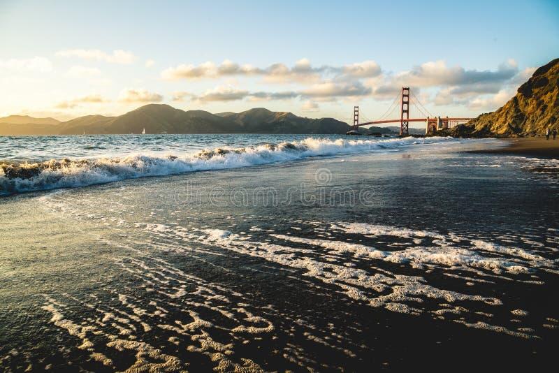 Baker Beach California photographie stock libre de droits