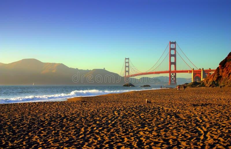 Baker Beach, San Francisco stock images