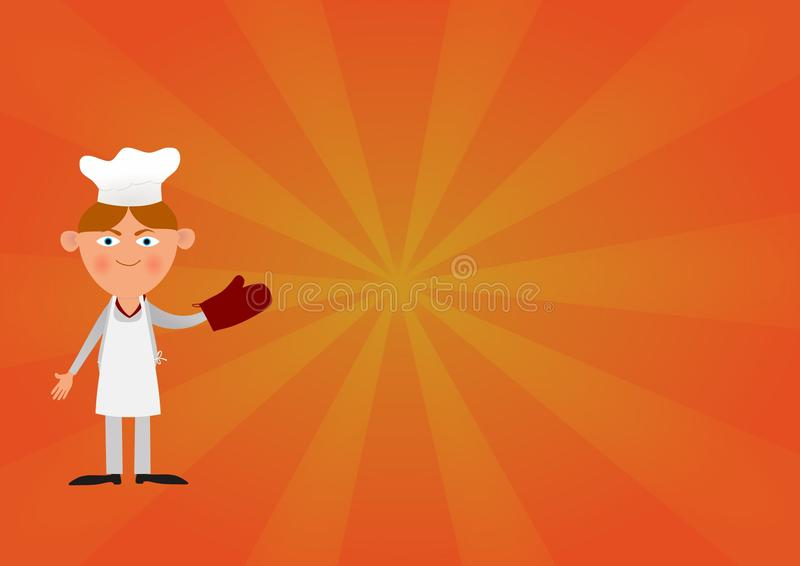 Baker Cartoon stock images