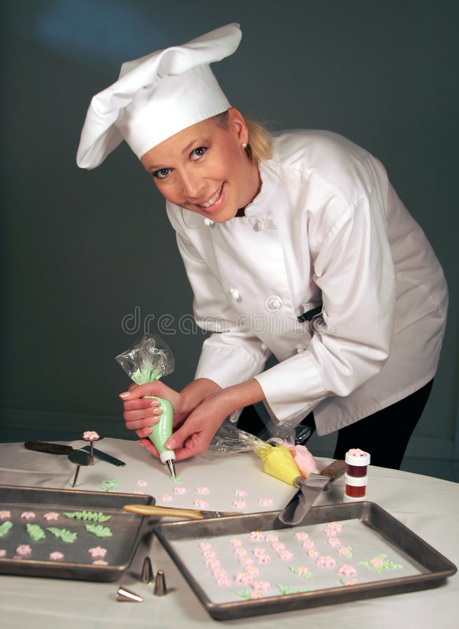 Baker féminin images libres de droits