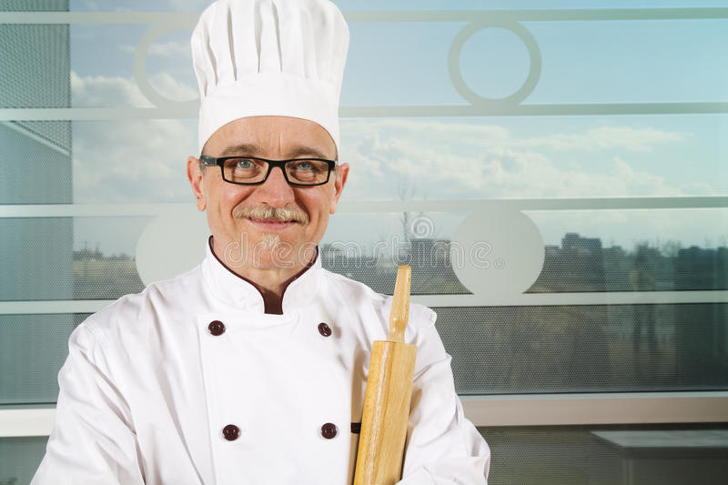 Download Baker With Hat Stock Image - Image: 19652761