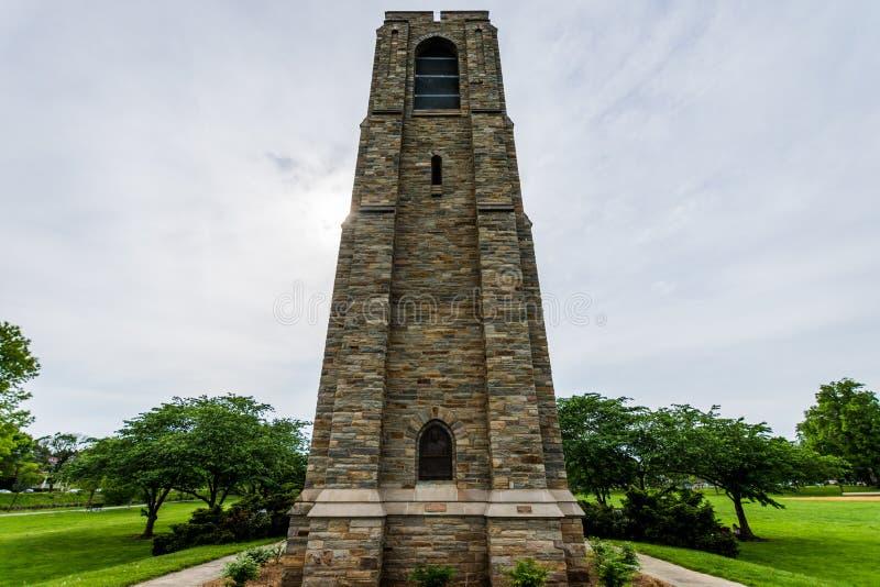 Baker Parks Joseph Dill Memorial in Historische Federick Van de binnenstad, royalty-vrije stock afbeelding