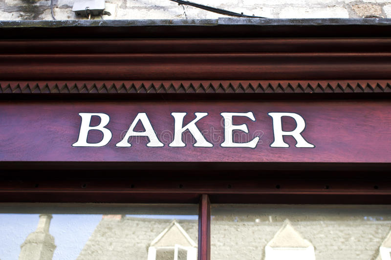 Baker shop stock photos