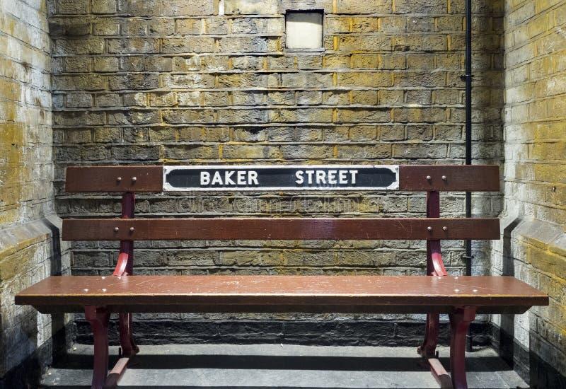 Baker straat royalty-vrije stock afbeeldingen