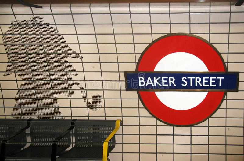 Download Baker Street And Sherlock Holmes Editorial Photo - Image: 13807906