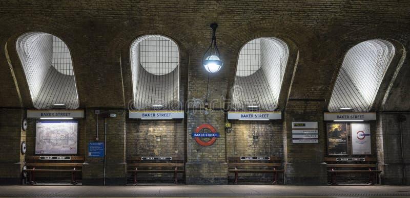 Baker Street Tube stock foto's